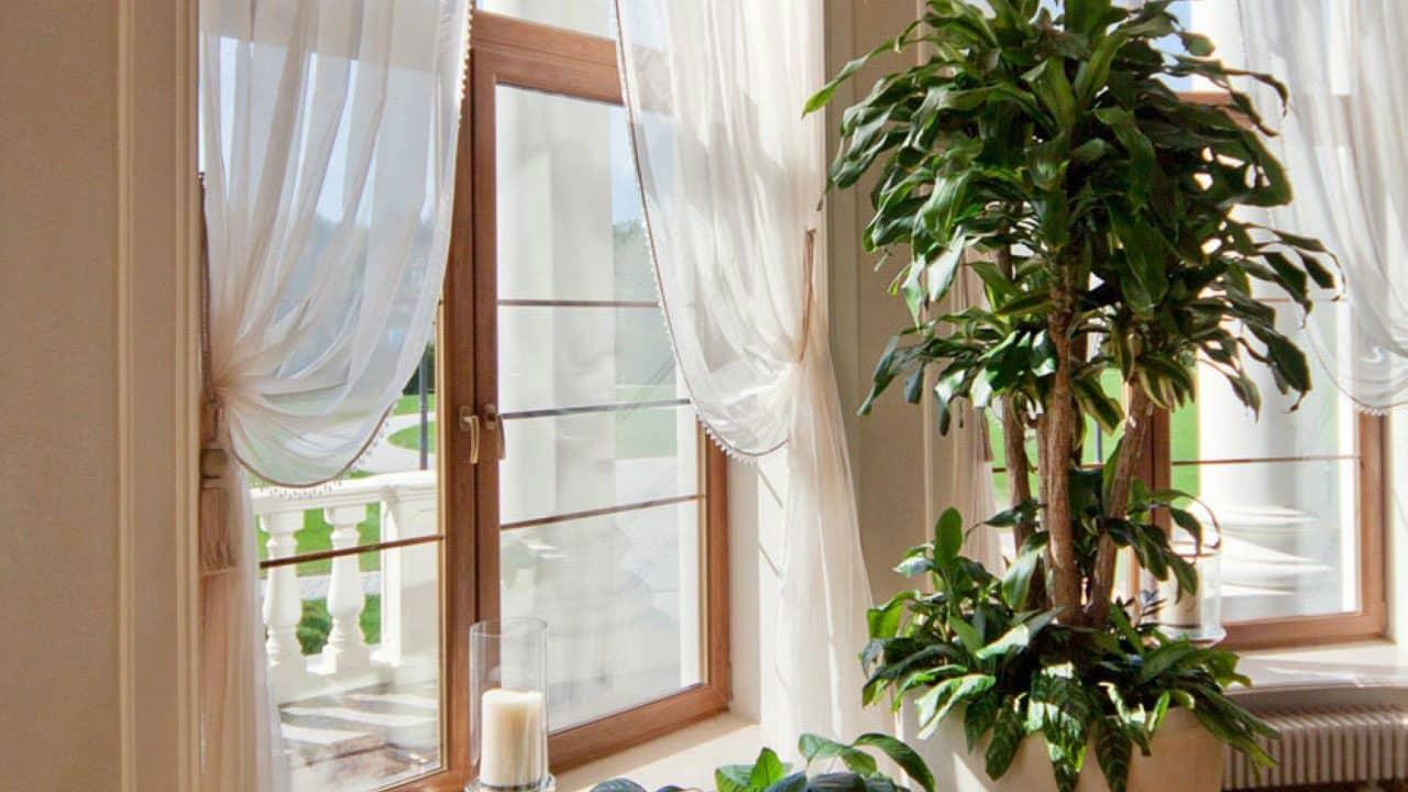 Ламинированные пвх окна